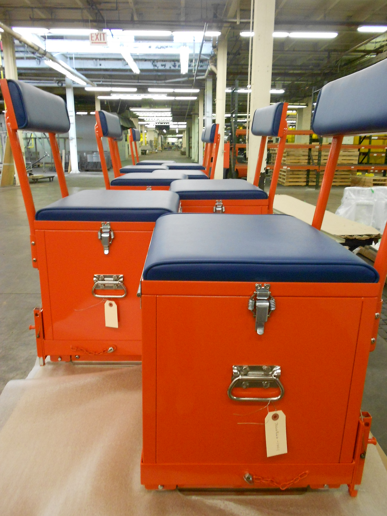 marine fabrication benches lockers