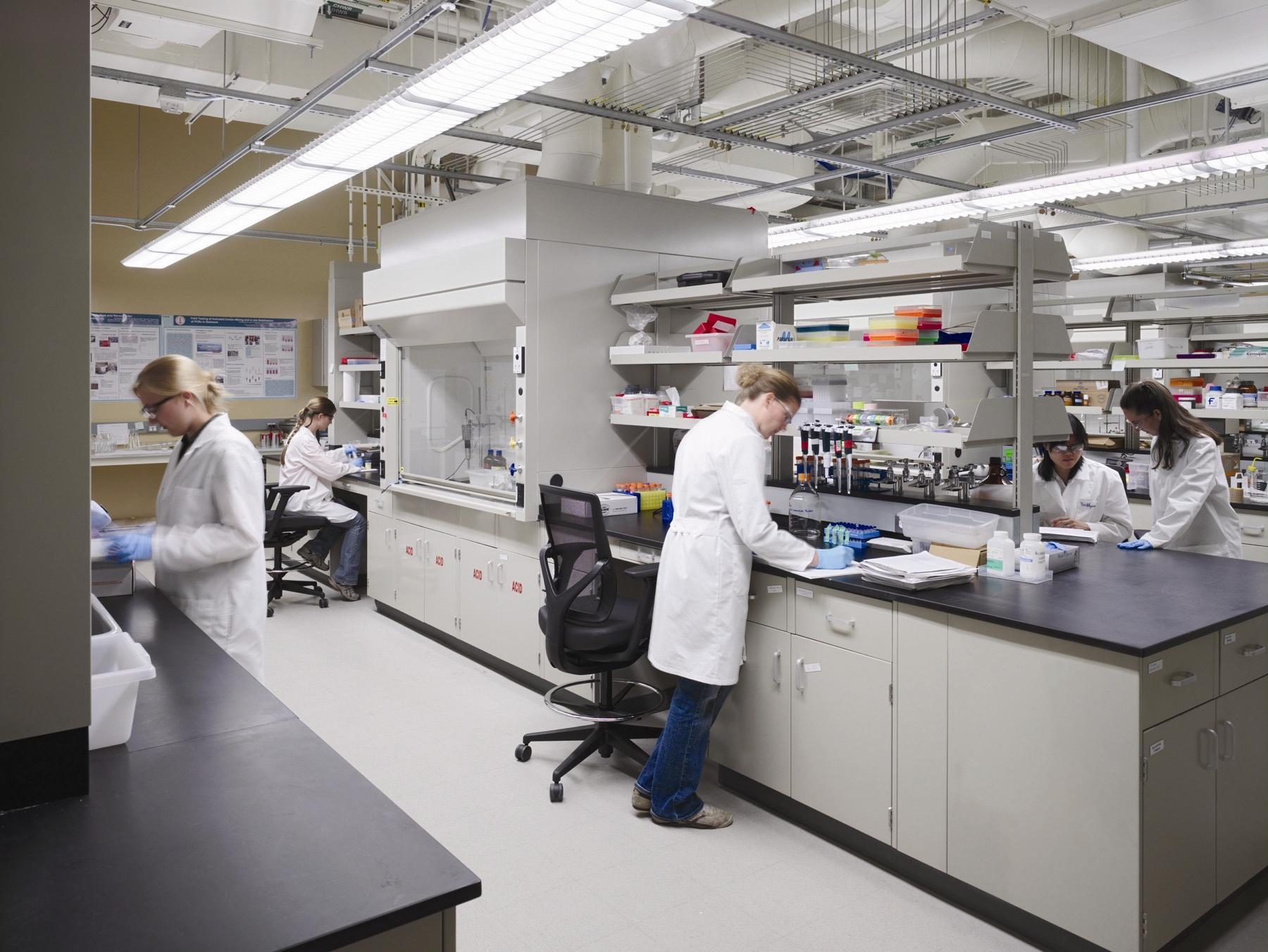 Scientific metal fabrication services